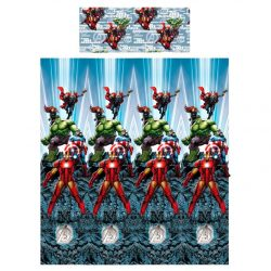 Marvel Avengers Bosszúállók pamut sheets szett bed 105cm gyerek