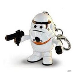 kulcstartó Mr. Potato Poptaters Star Wars Csillagok Háborúja Stormkatona gyerek
