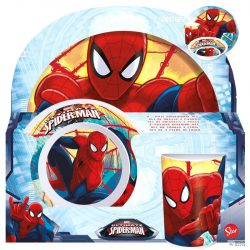 Marvel pókember melamine szett gyerek