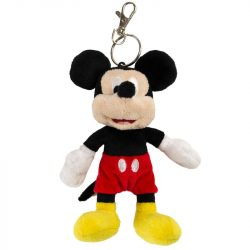 Disney Mickey plüss kulcstartó 18cm gyerek