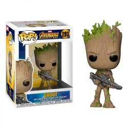 POP figura Marvel Avengers Bosszúállók Infinity War Teen Groot Gun gyerek