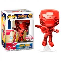 POP figura Marvel Avengers Bosszúállók Infinity War Iron Man piros Exclusive gyerek