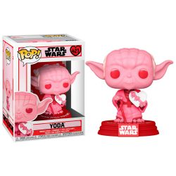 POP figura Star Wars Csillagok Háborúja Valentines Yoda szív gyerek