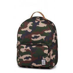 The Pack Society zöld camo hátizsák táska 42x31x14 cm 191CPR702.74 /kamp20210205
