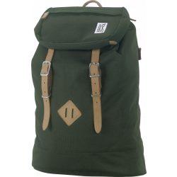 The Pack Society zöld hátizsák táska 46x31x17 cm 999CLA703.20 /kamp20210205
