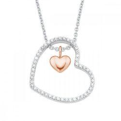 s.Oliver ékszer Női Lánc nyaklánc ékszer ezüst szív cirkónia 2026084 /kac