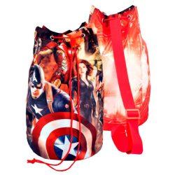 Marvel Avengers Bosszúállók tube  hátizsák táska 38cm gyerek /kac