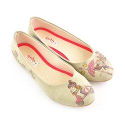 Goby 1001 női lapostalpú cipő Méret: 38 /kac