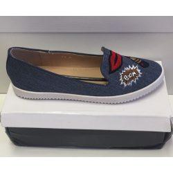 Foreverfolie női kék cipő 38-as /kac