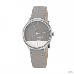 Mondaine Unisex férfi női óra Helvetica No1 világos GRAPHIC EDITION MH1.L2280.LH bőr