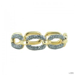 Joop Női karkötő karkötő nemesacél arany színű OVALLY JPBR10641B180