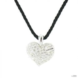 Heartbreaker by Drachenfels Női ezüst Anhänger Lánc LD AT 52