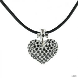 Heartbreaker by Drachenfels Női ezüst nyaklánc kiegészítőLánc LD AT 51 BL