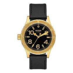 NIXON Unisex férfi női óra karóra Quartz fekete
