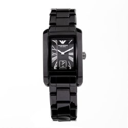 ARMANI női fekete Quartz óra karóra AR1407