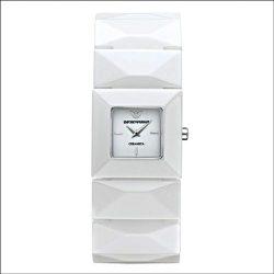 ARMANI női fehér Quartz óra karóra AR1436
