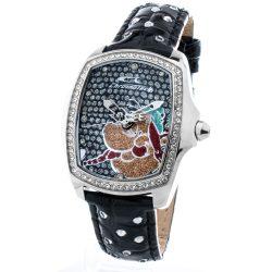 CHRONOTECH CT7896LS-89 fekete gyerek Quartz óra karóra