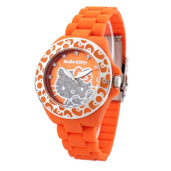 HELLO KITTY női óra karóra HK7143B-08 narancssárga