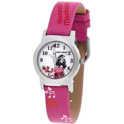 TIME FORCE HM1000 rózsaszín gyerek Quartz óra karóra