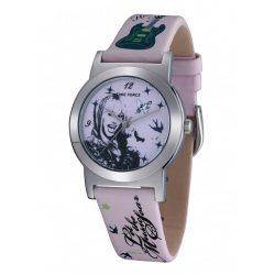 TIME FORCE gyerek rózsaszín Quartz óra karóra HM1010