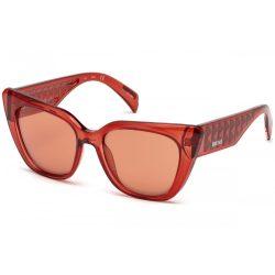 JUST CAVALLI női piros,arany napszemüveg JC782S-66U