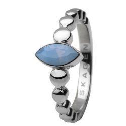 SKAGEN női ezüst, kék gyűrű Ékszer JRSI005SS7