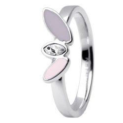 SKAGEN női ezüst, rózsaszín gyűrű Ékszer JRSV029SS5