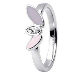 SKAGEN női ezüst, rózsaszín gyűrű Ékszer JRSV029SS7