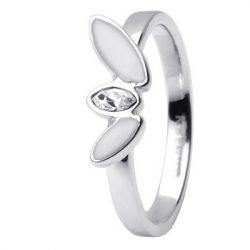 SKAGEN női ezüst, fehér gyűrű Ékszer JRSW029SS7