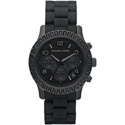 MICHAEL KORS Unisex férfi női fekete Quartz óra karóra MK5512