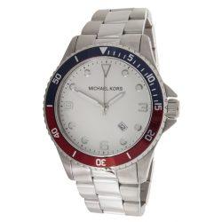 MICHAEL KORS Unisex férfi női fehér Quartz óra karóra MK7056