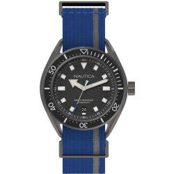 NAUTICA férfi kék,fekete Quartz óra karóra NAPPRF002