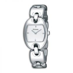 PULSAR nőiezüst Quartz óra karóra PJ5399X1