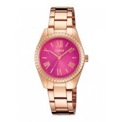 LORUS női rózsaszínarany Quartz óra karóra RG230KX9