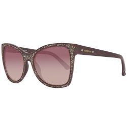SWAROVSKI női glossy sötét barna / barna fokiens napszemüveg SK0109-5648F