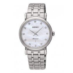 SEIKO nőiezüst Quartz óra karóra SXB433P1