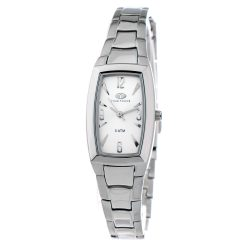 TIME FORCE nőiezüst Quartz óra karóra TF2566L-03M