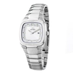 TIME FORCE nőiezüst Quartz óra karóra TF2576L-02M