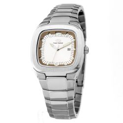 TIME FORCE nőiezüst Quartz óra karóra TF2576L-03M