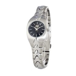 TIME FORCE nőiezüst Quartz óra karóra TF2578L-01M