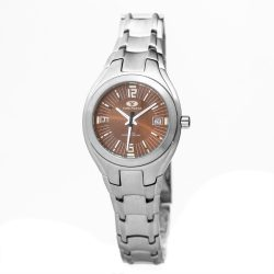 TIME FORCE nőiezüst Quartz óra karóra TF2582L-04M