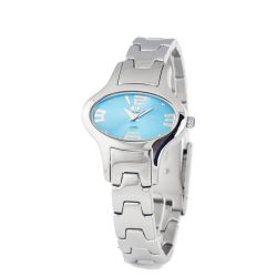 TIME FORCE nőiezüst Quartz óra karóra TF2635L-03M-1