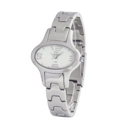 TIME FORCE nőiezüst Quartz óra karóra TF2635L-04-1