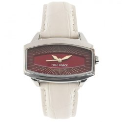 TIME FORCE női fehér Quartz óra karóra TF2996L03