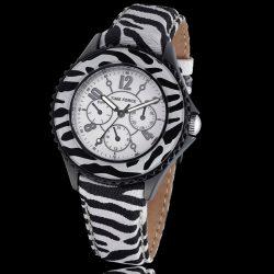 TIME FORCE női fehér fekete Quartz óra karóra TF3300L11