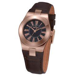TIME FORCE női fekete Quartz óra karóra TF4003L15