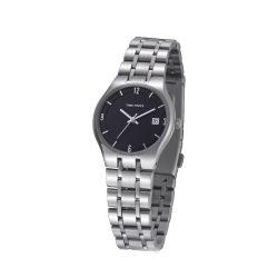 TIME FORCE nőiezüst Quartz óra karóra TF4012L01M