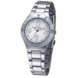 TIME FORCE nőiezüst Quartz óra karóra TF4038L02M