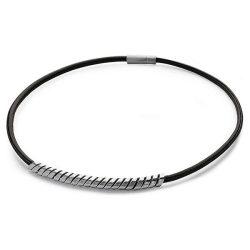 BREIL férfiezüst / barna nyaklánc ékszer Ékszer TJ0375