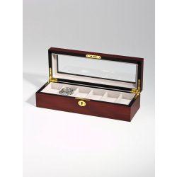 Rothenschild óra karóra doboz RS-1087-6C for 6 óra karóra Cherry óra karórabox